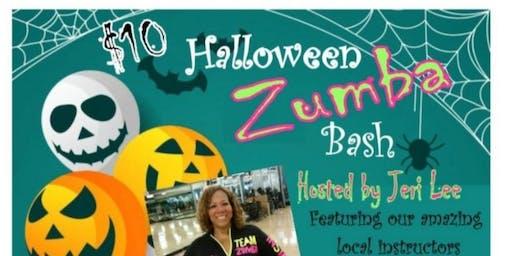 Halloween Zumba bash benefitting the American Cancer Society