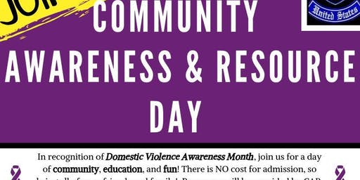 Community Awareness & Resource Day!