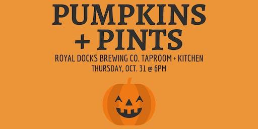 3rd Annual Pumpkins + Pints