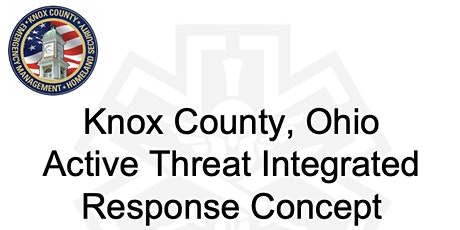 Knox Co Active Threat Integrated Response Concept Training tickets