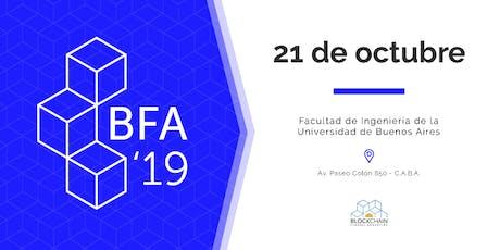 BFA '19 entradas