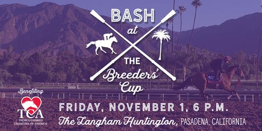 Bash at the Breeders' Cup benefiting Thoroughbred Charities of America