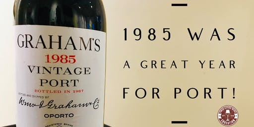 1985 was a great year for PORT!