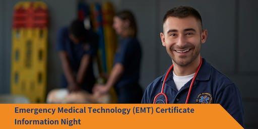 EMT Certification Information Night 2019