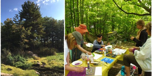 Forest Bathing Walk & Art Making Retreat
