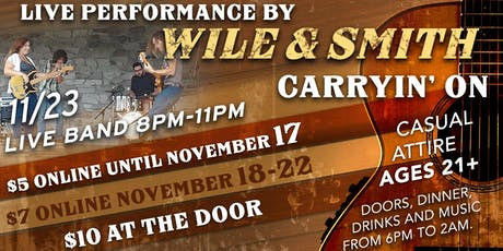 Wile & Smith Live! at The Suite 710 Lounge tickets