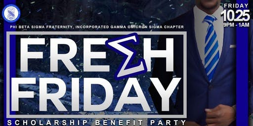 FRESH FRIDAY SCHOLARSHIP BENEFIT PARTY