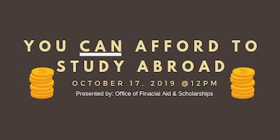 You CAN Afford to Study Abroad