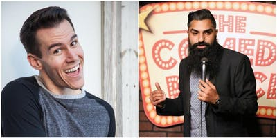 Slice of Comedy headlining DJ Sandhu & Myles Weber