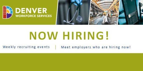 Now Hiring! Table Recruiting - Arie P. Taylor Building -  Employer Registration (November 2019) tickets