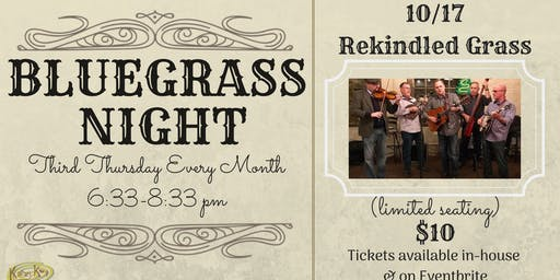 Bluegrass Night! with Rekindled Bluegrass