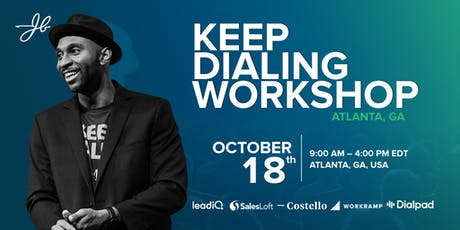 JBarrows Keep Dialing Workshop Atlanta tickets