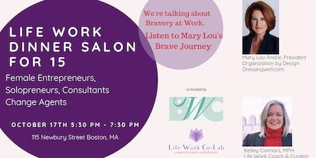 Women Leadership Dinner Salon tickets