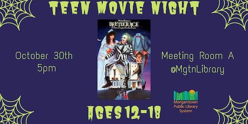 Teen Movie Night (Ages 12-18): Beetlejuice