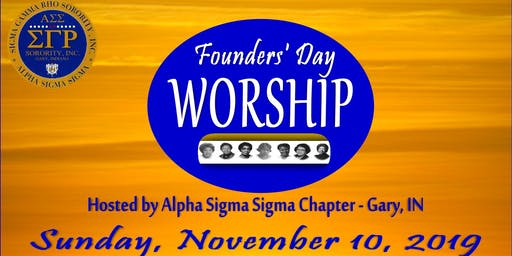 Alpha Sigma Sigma Founders' Day Worship Service 2019