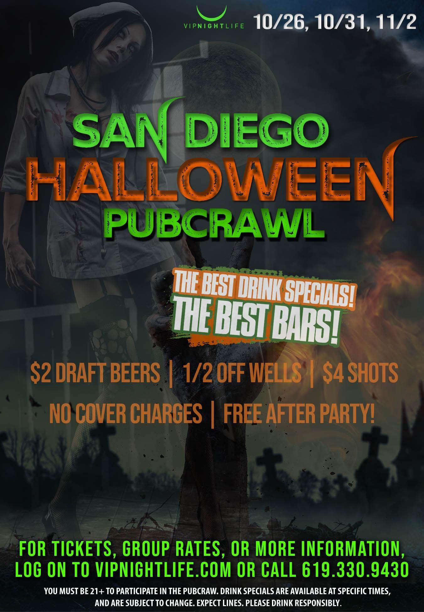 San Diego Halloween PubCrawl