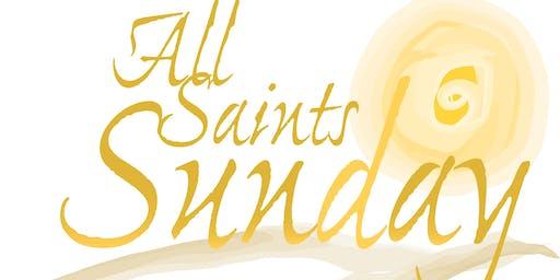All Saints Day and Bishop Barker's Visit