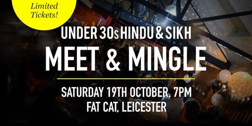 Hindu & Sikh Meet and Mingle Social Evening - Under 30s | Leicester