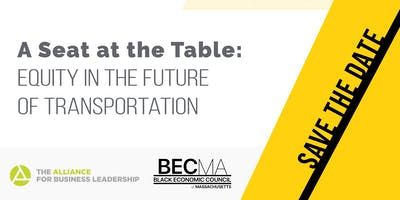 A Seat at the Table: Equity in the Future of Transportation