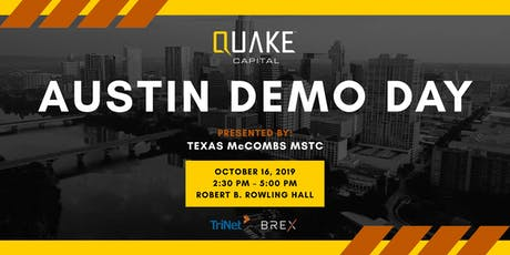 Quake Capital ATX 2019 Demo Day tickets