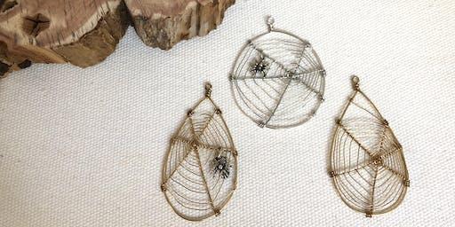 Spiderweb Pendants