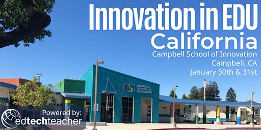 Innovation in Education Conference - California 2020