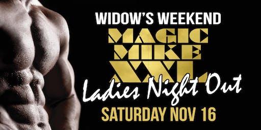 Widow's Weekend - Magic Mike Show
