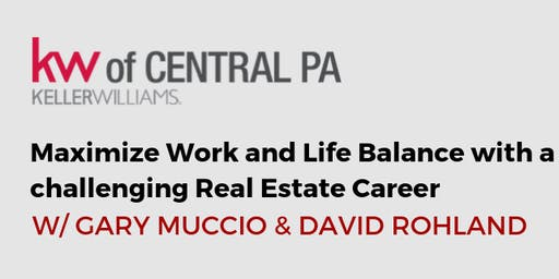 Maximize Work and Life Balance w/ A Challenging Real Estate Career