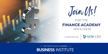 South Valley Chamber Finance Academy tickets