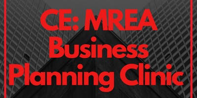 FREE CE: Business Planning Clinic