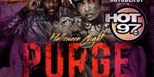 Hot 97 Purge Rooftop Costume Party Halloween Night @...