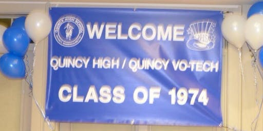 Quincy High School Class of 1974 45th Reunion