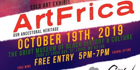 ArtFrica: Our Ancestoral Heritage tickets