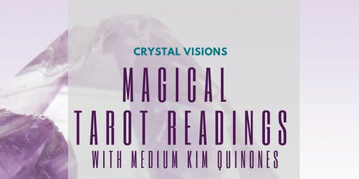 Crystal Visions: Magical Tarot Readings and Spiced Sips with Kim Quinones at Valencia Good Vibrations