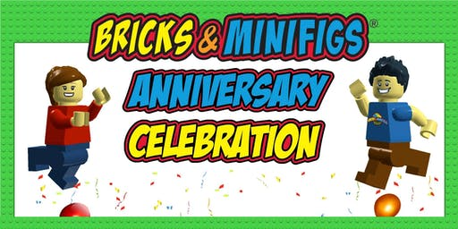 Bricks & Minifigs Fourth Year Anniversary Celebration