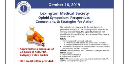 Lexington Medical Society Opioid Symposium