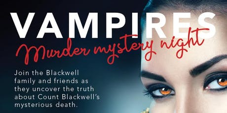 Vampires: Murder Mystery Dinner tickets