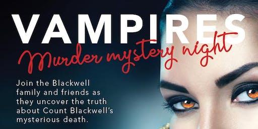 Vampires: Murder Mystery Dinner