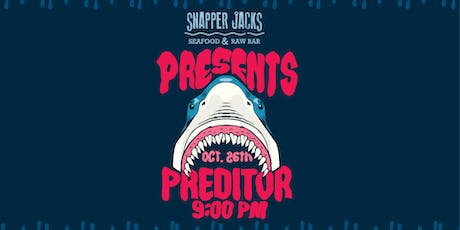 Predator Halloween Party at Snapper Jack's tickets