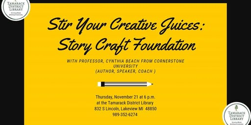 Stir Your Creative Juices: Writers Workshop
