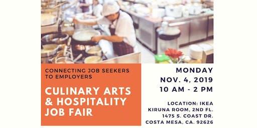 Culinary Arts & Hospitality Job Fair
