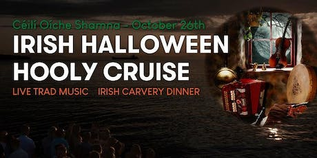 Irish Halloween Hooly Cruise tickets