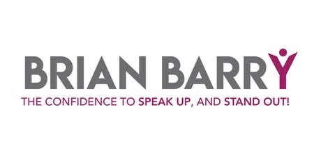 Speak UP and Stand OUT! with Brian Barry - October 2019 tickets