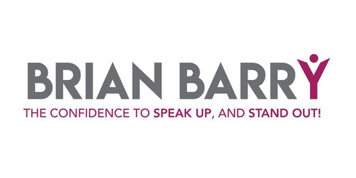 Speak UP and Stand OUT! with Brian Barry - October 2019