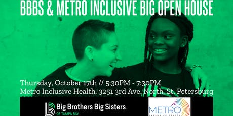 Sip & Share With Those Who Care - BBBS / Metro BIG Open House tickets