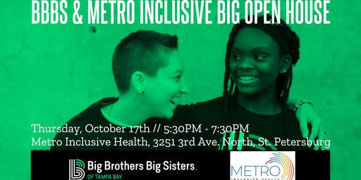 Sip & Share With Those Who Care - BBBS / Metro BIG Open House