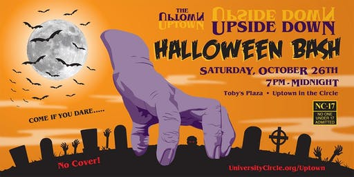"Uptown ""Upside Down"" Halloween Bash"