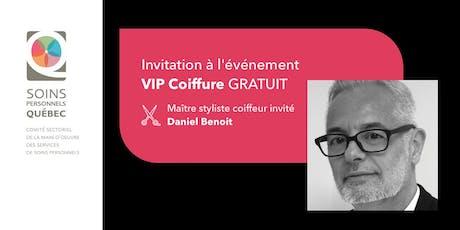 Événement VIP Coiffure - Soins Personnels Québec tickets