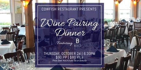 Wine Pairing Dinner Featuring Bedell Cellars tickets