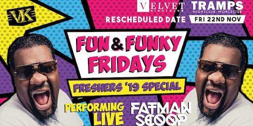 Fun And Funky Friday Special FT. Fatman Scoop LIVE